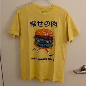 Men's Threadless Tokyo Hamburger Run Tee
